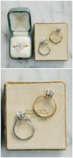 Diamond Solitaire Engagement Ring / Hexagon Diamond Engagement Ring In Gold / Wedding Diamond Ring / Promise Ring - Fine Jewelry Ideas Wedding Rings Vintage, Diamond Wedding Rings, Vintage Engagement Rings, Diamond Rings, Vintage Rings, Hexagon Engagement Ring, Solitaire Engagement, I Love You Ring, Diamonds