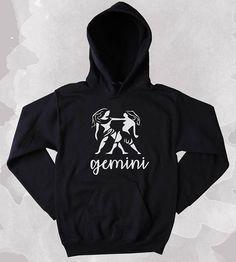 Gemini Astrology Zodiac Sign Unisex Adult Hoodie