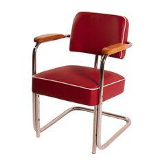Gispen 1235 geel wh gispen gispen gispen kembo for Bauhaus design stoelen