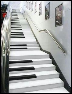 I think I like these music stairs the best.