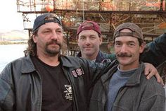 Brothers Hillstrand ~ John, Andy and Neal Deadliest Catch, Matthew Gray Gubler, Reality Tv, Movie Tv, Fishing, Sea, My Love, Books, Life