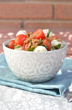 Caprese Grain Salad with Spelt