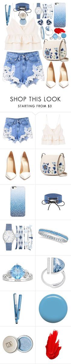 """Ladies Fashion!"" by sodenoshirayuki-kuran ❤ liked on Polyvore featuring MANGO, Francesco Russo, French Connection, A.X.N.Y., Allurez, Ice, Swarovski, BaByliss, Jin Soon and Maybelline"