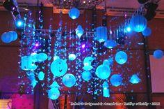 Sakura Origami & Acessórios  - tsurus do Rotary Santo André  {Salão principal} http://blog.sakuraorigami.com.br/2012/08/click-do-cliente-tsurus-do-rotary-santo.html# #tsuru #decoração #festa