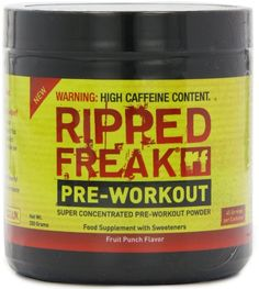 Pharmafreak Ripped Freak Pre Workout Fruit Punch ** Learn more by visiting the image link.