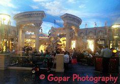 View From Caesar Palace Casino Las Vegas