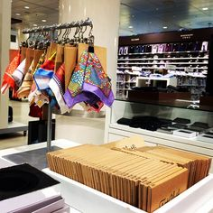 FatCloth Pocket Squares now available at Stockmann Helsinki!