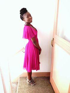 Modestly wear: Midi event Dress