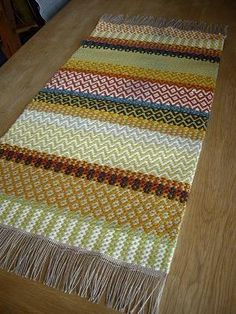 I want to learn this. I just recalled I once learned Swedish embroidery as a school child. Swedish weaving, hmm.