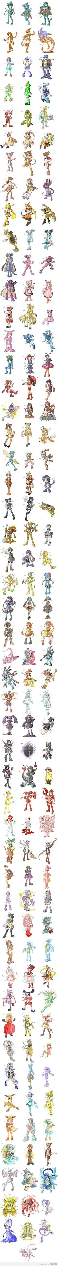 1st Generation Pokemon