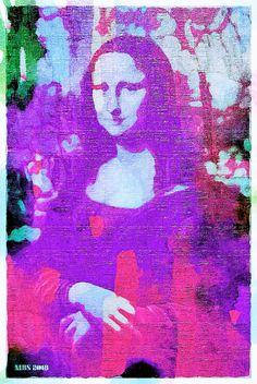 Textured Purple Urban Mona (MBS 2018)