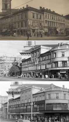 Egyházi pénzből épült a pesti Kálvin-pláza Budapest Hungary, Old Photos, Louvre, History, Retro, Building, Travel, Old Pictures, Historia