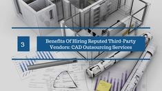 It has become a norm rather than an exception for hiring reputed third-party vendors offering CAD Outsourcing Services,to outsource your drawing job to experienced third-party vendors today. The post discusses some apprehensions people still have about outsourcing their work, and enumerates its main benefits.