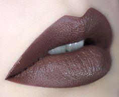 SEPIA liquid lipstick by @anastasiabeverlyhills