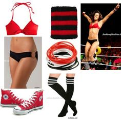 I feel like this is just right Wrestling Costumes, Wrestling Clothes, Wrestling Outfits, Wwe Outfits, Cute Teen Outfits, Outfits For Teens, Wwe Total Divas, Wwe Divas, Aj Lee