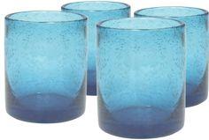 Iris Double Old Fashioned Glass   Joss & Main
