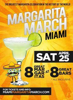 1st Annual Miami Margarita March: http://www.soflanights.com/?p=138114