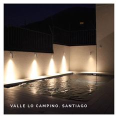 "Proyecto Valle lo Campino. . . . #piscinadehormigon #piscinascondiseñochile #piscinascondiseño #santiago #chile…"" Santiago Chile, Instagram, Night, Projects"