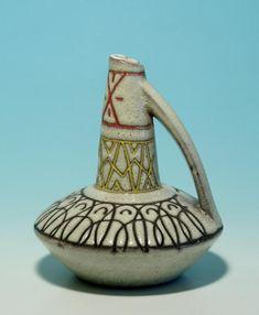 """Keramik Vase ROMA Tairnbacher Majolikafabrik 1962"""
