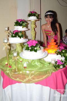 XV Años de 2012: Pasteles