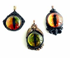 These were made somehow with Polymer Clay, I have got to figure out how!