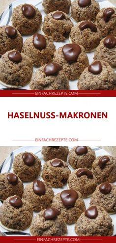 Hazelnut macaroons 😍 😍 😍 – Sweet World Ideas Easy Cupcake Recipes, Cake Mix Cookie Recipes, Dessert Recipes, Dessert Party, Party Desserts, Fun Holiday Desserts, Winter Desserts, Cupcakes, Macaroons