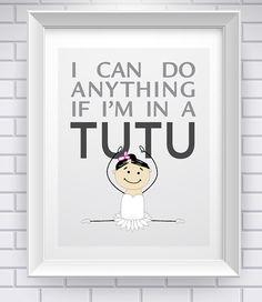 Tutu Power Immediate Download van MySouthernAccent op Etsy