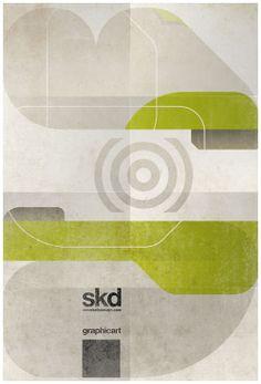 Posters by Steve Kelly, via Behance