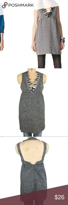 Anna Sui Target tweed and sequin dress Really cool tweed dress with large sequin/embellished neckline. Size 3. Measurements to come. Anna Sui Dresses