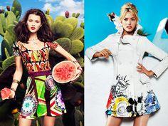 Desigual 2013 Spring Summer Womens Lookbook