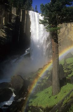 Double Shot by Steve Shuey on 500px ~ Vernal Falls, Yosemite*