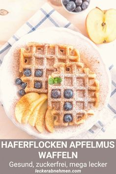 #Healthy #breakfast #near #me #fitness #vegane Vegane Waffeln ohne Zucker ganz einfach selber machen Unser gesundes Fitness Rezept für Waffeln wird mit Haferflocken Apfelmus und Zimt gemachtbrp classfirstletterYou are in the right place about gemachtpThe sufficient Pictures We Offer You About rezeptbrA quality piece can tell you many things You can find the better superbly Pictures that can be presented to you about ganz in this account When you look at our dashboard there are the greater… Quick Easy Meals, Easy Dinner Recipes, Healthy Dinner Recipes, Vegetarian Recipes, Healthy Desserts, Easy Recipes, Waffel Vegan, Evening Meals, Food Items