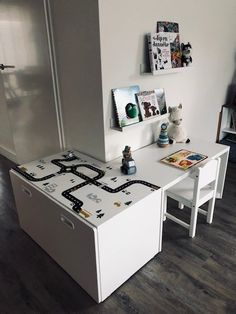 Kinderhoek bei Jolanda photo Children& corner at Jolanda # Children& corner # Play angle # Highway Play Corner, Kids Corner, Ikea Hack Kids, Baby Boy Rooms, Room Accessories, Inspired Homes, Kids House, Playroom, Kids Room