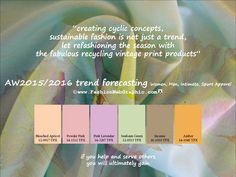 AW2015/16 trend forecasting