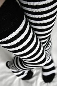 Super Stripes - Longer. From www.sockdreams.com - $12. These would be great for a steampunk costume. #kathrynswishlist