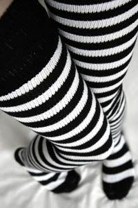 Super Stripes ~ Longer - Sock Dreams - Unique Colorful Socks