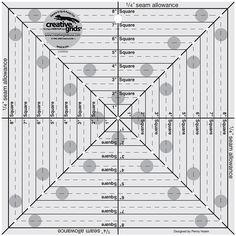 Tri-Recs Triangle Ruler by Darlene Zimmerman & Joy Hoffman