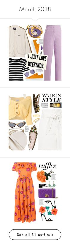 """""""March 2018"""" by beebeely-look ❤ liked on Polyvore featuring TIBI, Olympia Le-Tan, Jil Sander Navy, R13, Victoria Beckham, Burberry, casual, weekend, casualoutfit and weekendstyle"""