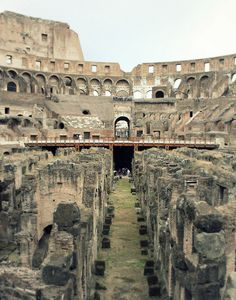 Roman Coliseum... larger than life.  someday i will see it :)