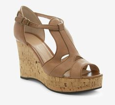 Chloé Brown And Tan Wedge