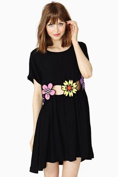 Flower Power Dress. Lazy Oaf x Nasty Gal. Remember, less than 2 months to shop for Jeanne's birthday!