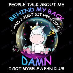 Unicorn Memes, Unicorn Quotes, My Little Pony Unicorn, Cute Unicorn, Classic Cartoon Characters, Classic Cartoons, Behind My Back, Jokes Pics, Bless The Child