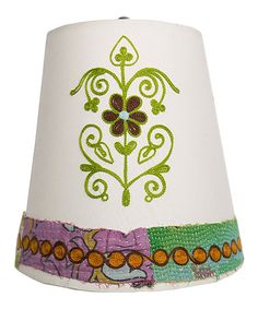 Boho Blooming Flower Lampshade by Karma Living