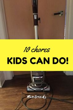 Chores Your Kids Can
