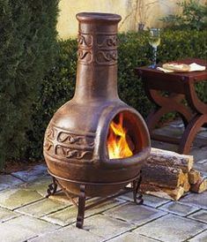 What Is A Chiminea Used For Patios Chiminea And