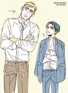 Erwin and Livaï | Eruri | Shingeki no Kyojin
