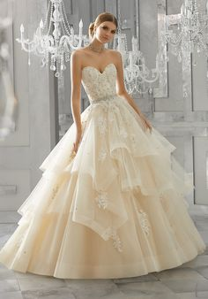 Order Mori Lee Bridal Wedding Dress Style Moira Find Affordable and Exceptional Mori Lee Wedding Dresses at Ginnys Bridal Collection. Mori Lee Bridal, Mori Lee Wedding Dress, Bridal Wedding Dresses, Wedding Dress Styles, Dream Wedding Dresses, Lace Wedding, 2017 Bridal, 2017 Wedding, Wedding Planner