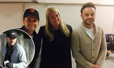 Ant McPartlin poses with Dec Donnelly at airport before I'm A Celeb Ant And Lisa, Declan Donnelly, Ant & Dec, Tv Presenters, Celebs, Celebrities, Ants, Comedians, Tv 2017