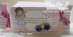 Latinas Arts and Crafts: Ganadora y Top 5 Tutorial #51: Caja Caramelo