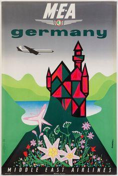 J. Auriac / MEA - Germany / ca. 1960